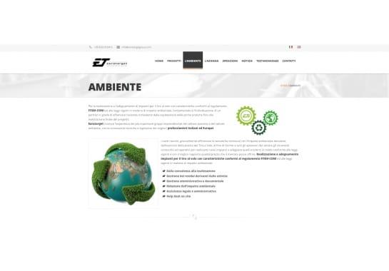 Progetto realizzato per Eurotarget Srl da Ermes Digital, Sudio grafico, web e seo Milano