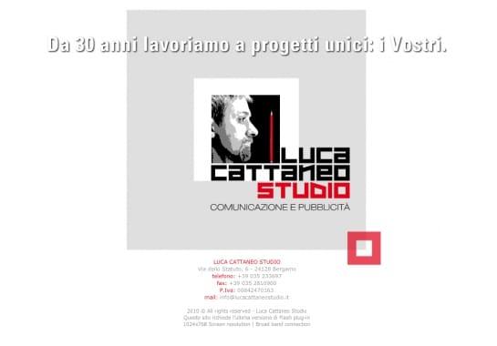 Progetto realizzato per LUCA CATTANEO STUDIO da Ermes Digital, Sudio grafico, web e seo Milano
